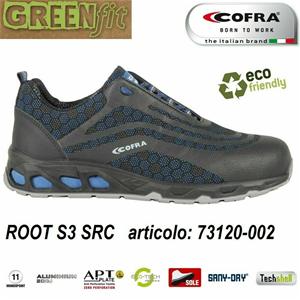 Scarpa antinfortunistica Cofra ROOT S3 SRC scarpe idrorepellente e traspirante